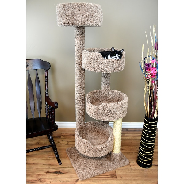 Perfect New Cat Condos Solid Wood Cat Stairway