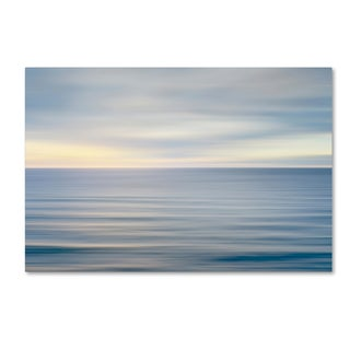 Alan Majchrowicz 'On the Horizon II no Border' Canvas Art