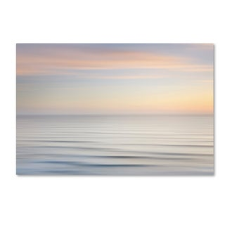 Alan Majchrowicz 'On the Horizon I no Border' Canvas Art