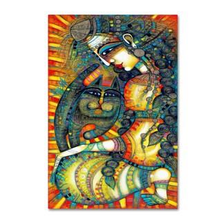 Albena Vatcheva 'La Gitane' Canvas Art