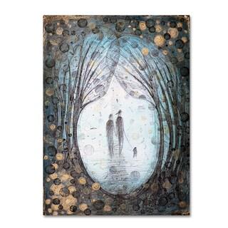 Albena Vatcheva 'La Foret Enchantee' Canvas Art