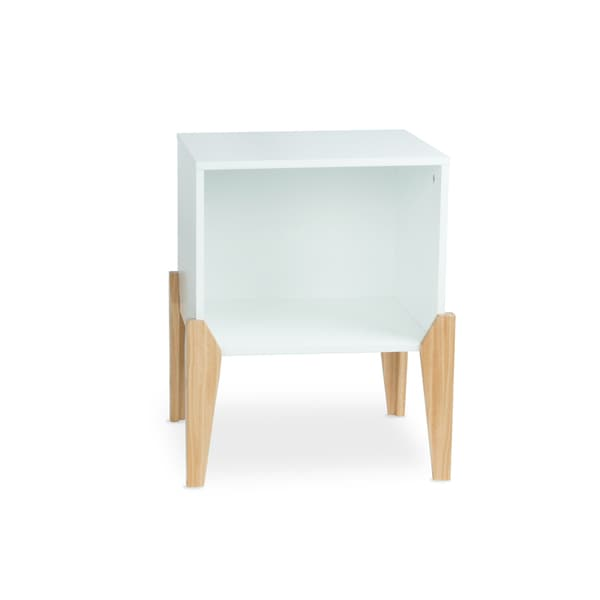 Atlantic Stackable Open Storage End Table