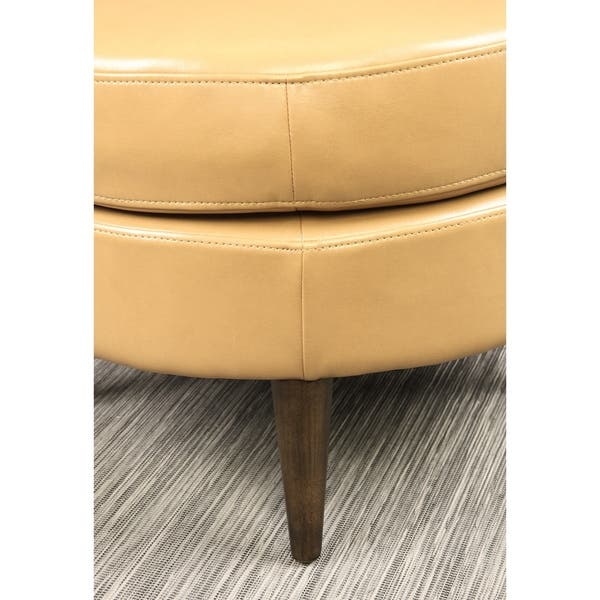 Fantastic Shop Carson Carrington Goteborg Round Ottoman On Sale Machost Co Dining Chair Design Ideas Machostcouk