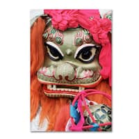 Robert Harding Picture Library 'Lion Mask' Canvas Art