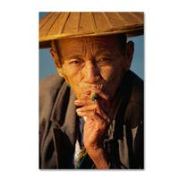 Robert Harding Picture Library 'Smoking' Canvas Art