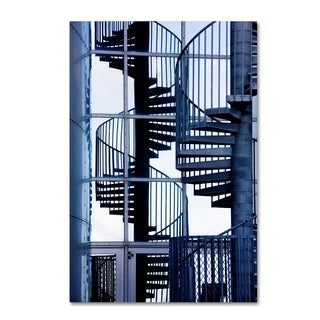 Robert Harding Picture Library 'Spiral Stairs' Canvas Art