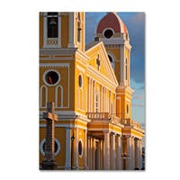 Robert Harding Picture Library 'Yellow Building' Canvas Art