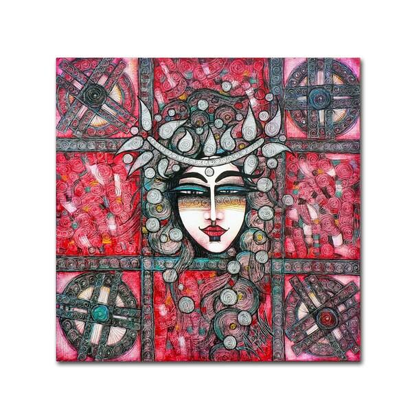 Albena Vatcheva 'La Roue De La Fortune' Canvas Art