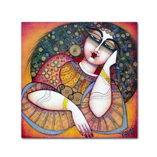 Albena Vatcheva 'La Belle' Canvas Art