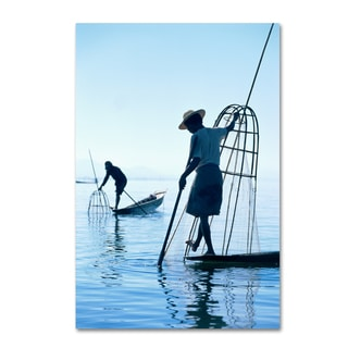 Robert Harding Picture Library 'Fishing Boats' Canvas Art
