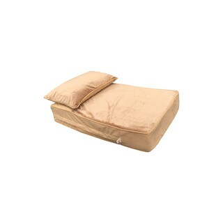 Snoozer Cooling Memory Foam Lounger - Camel
