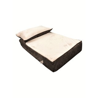 Snoozer Cooling Memory Foam Lounger - Laurel Mocha