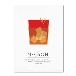 Studio Grafiikka 'Negroni' Canvas Art