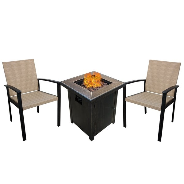Howell 3-Piece Fire Pit Set