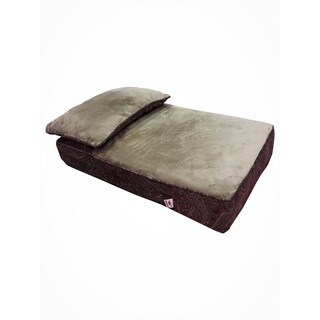 Snoozer Cooling Memory Foam Lounger - Laurel Cayenne