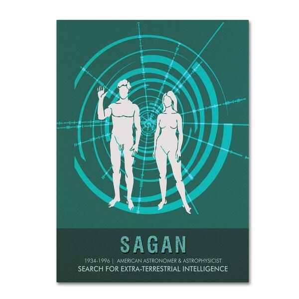 Studio Grafiikka 'Sagan' Canvas Art