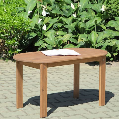 Gavil Adirondack Teak Finish Coffee Table