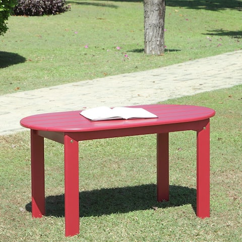 Gavil Adirondack Red Coffee Table