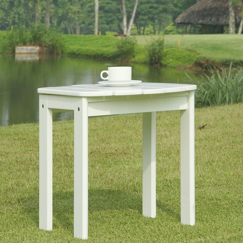 Gavil White Adirondack End Table