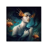 JoJoesArt 'Mermaid' Canvas Art