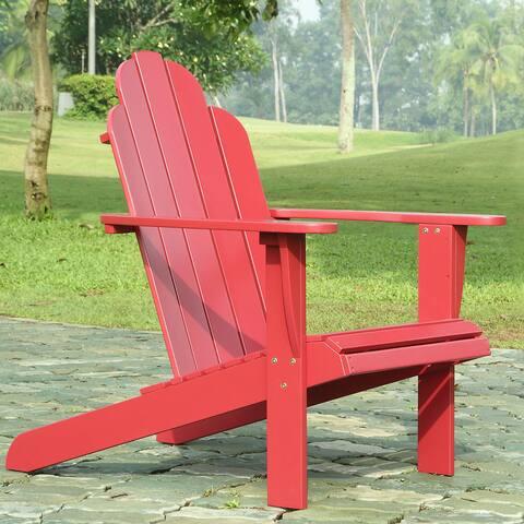 Gavil Red Adirondack Chair
