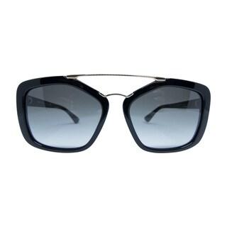 Prada SPR 24R 1AB-0A7 Unisex Black Frame Grey lenses sunglasses (As Is Item)