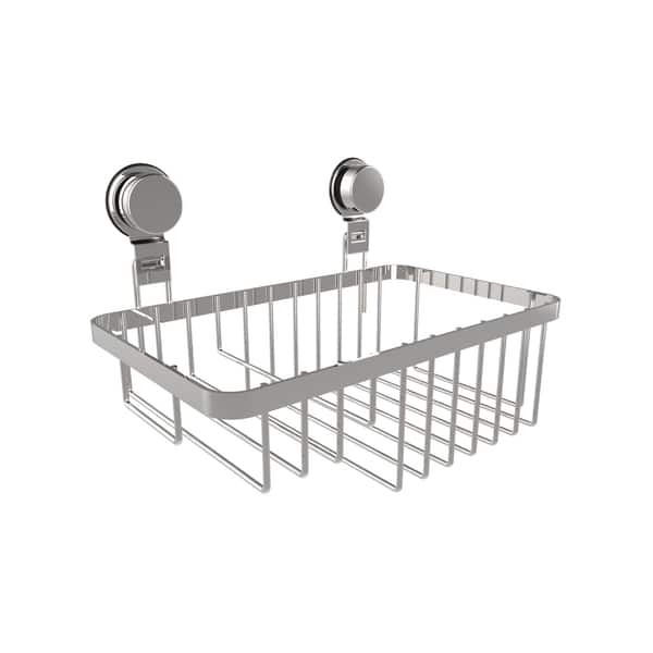 Wall Mounted Shower Caddy Stainless Steel Twist Lock