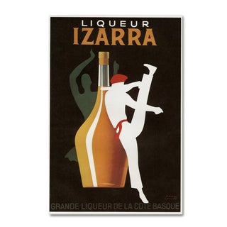 Vintage Apple Collection 'Izarra I' Canvas Art