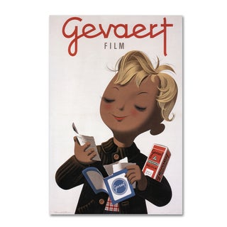 Vintage Apple Collection 'Gevaert Ii' Canvas Art