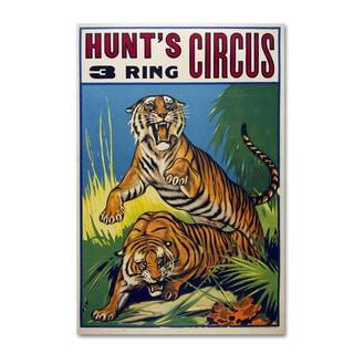Vintage Apple Collection 'Hunts Circus' Canvas Art