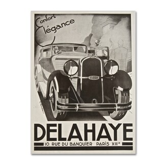 Vintage Apple Collection 'Delahaye' Canvas Art