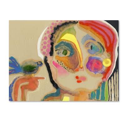 Wyanne 'The Talker' Canvas Art