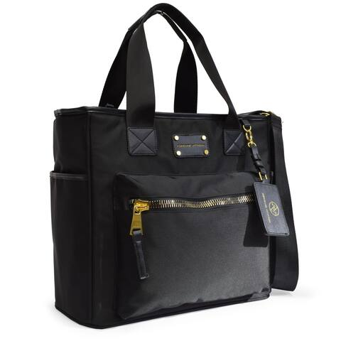 Adrienne Vittadini Nylon Tote Bag With Laptop Sleeve