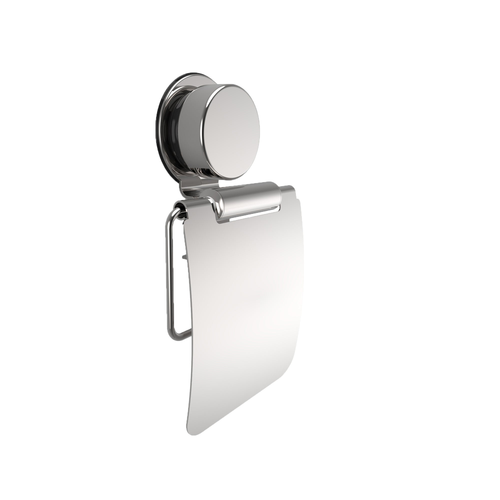 Wall Mounted Toilet Paper Roll Holder with Flap -Toilet T...