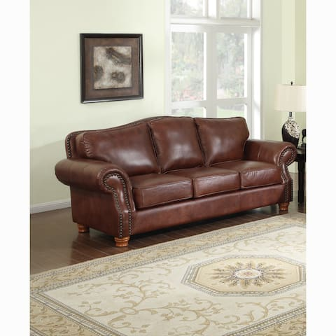 Buy Leather Sofas & Couches Online at Overstock | Our Best ...