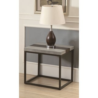 Emerald Home Stoneworks Natural Stone End Table