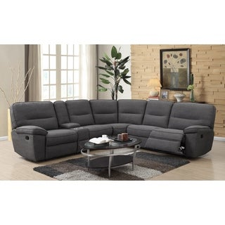 Emerald Home Alberta Charcoal 6-Piece Sectional