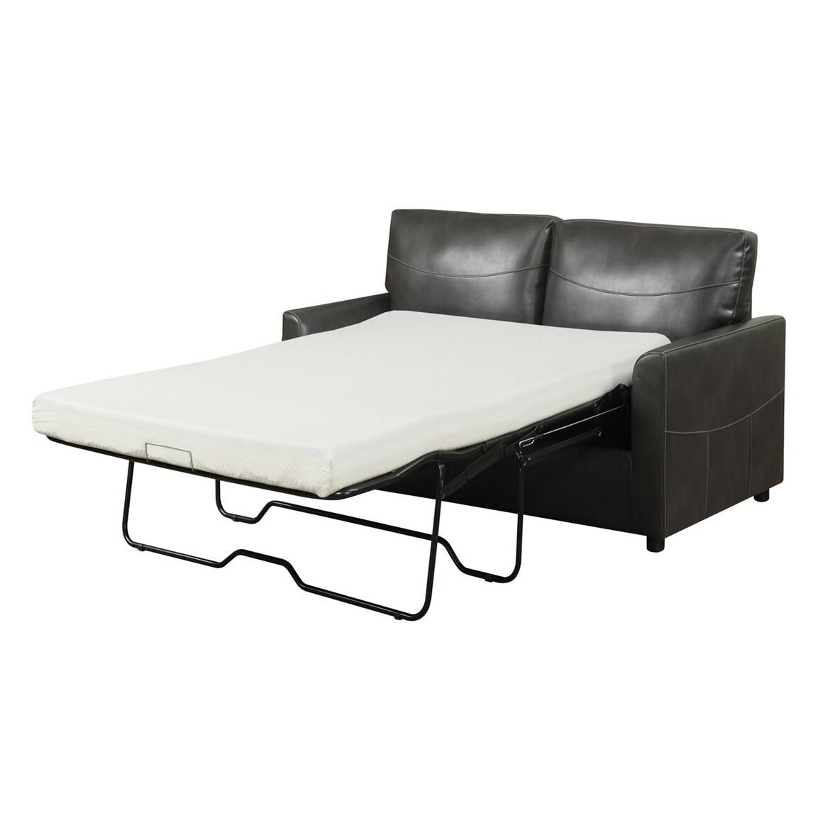Fabulous Porch Den Guirado Queen Sleeper With Gel Foam Mattress Spiritservingveterans Wood Chair Design Ideas Spiritservingveteransorg