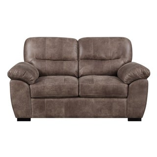 Emerald Home Nelson Almond Brown Loveseat