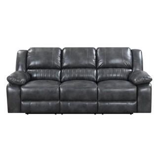 Emerald Home Navaro Grey Motion Sofa