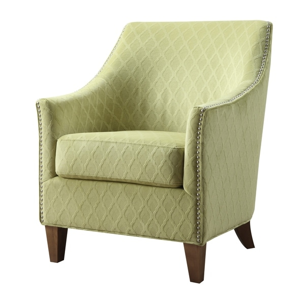 Oliver James Monika Green Accent Chair