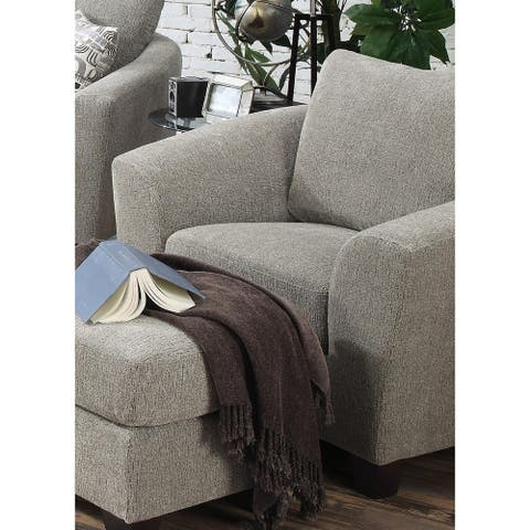 Emerald Home Urbana Bone Accent Chair