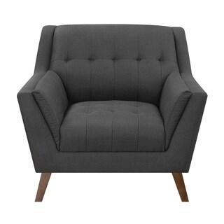 Carson Carrington Nordfjord Mid-century Tufted Chair