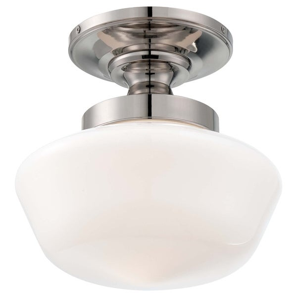 Minka Lavery 1 Light Semi Flush Mount