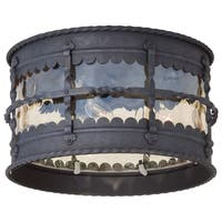 Minka Lavery Mallorca 3 Light Flush Mount