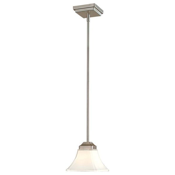 Minka Lavery Agilis 1 Light Mini Pendant - Silver