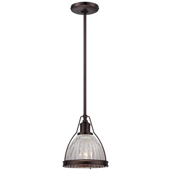 Minka Lavery 1 Light Mini Pendant - Bronze