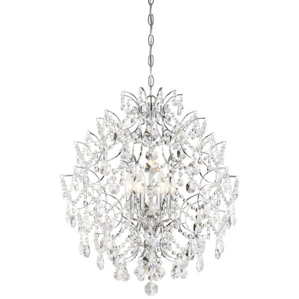 Minka Lavery Isabella'S Crown 6 Light Chandelier - Chrome