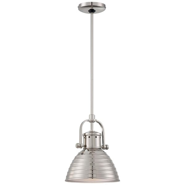 Minka Lavery 1 Light Mini Pendant - Silver