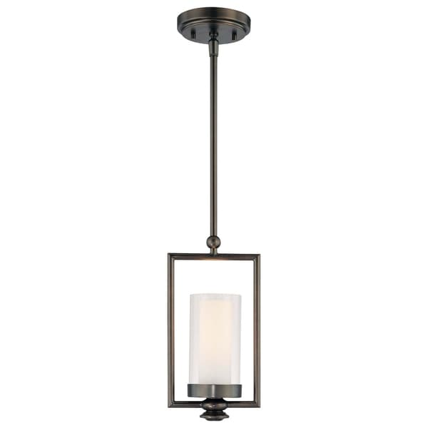 Minka Lavery Harvard Court 1 Light Mini Pendant - Bronze
